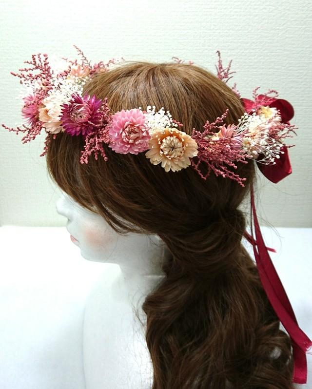 ヘリクリサムの花冠