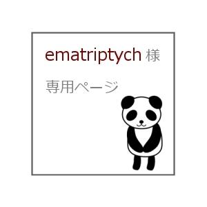 ematriptych 様 専用ページ