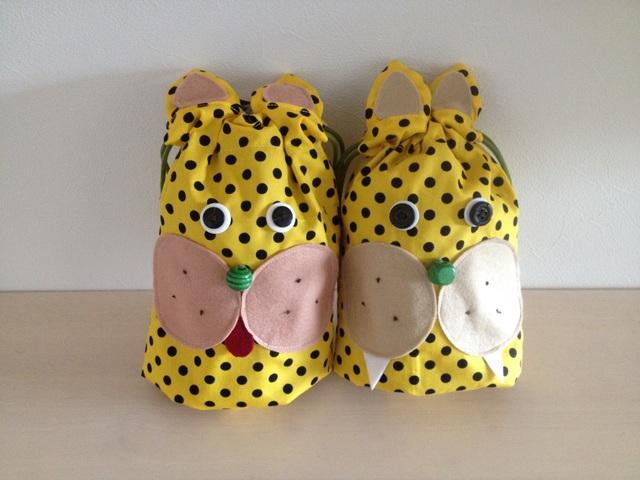 チーターさんのコップ袋(再発売♪)