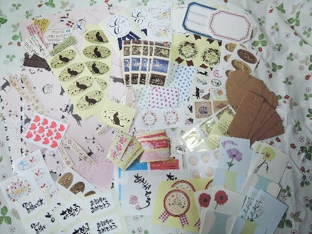 ☆特別価格☆ステキなラッピング&シールセット(506)