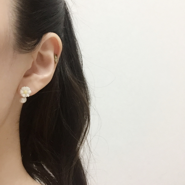 petit margaret×Freshwater Pearl pierce