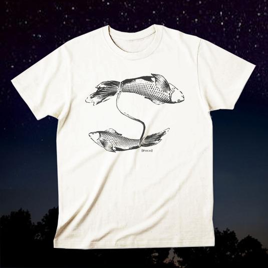 12星座Tシャツ「Pisces(魚座)」