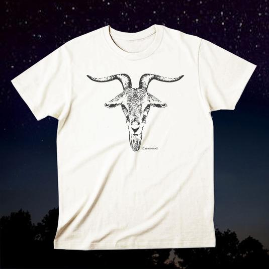 12星座Tシャツ「Capricorn(山羊座)」