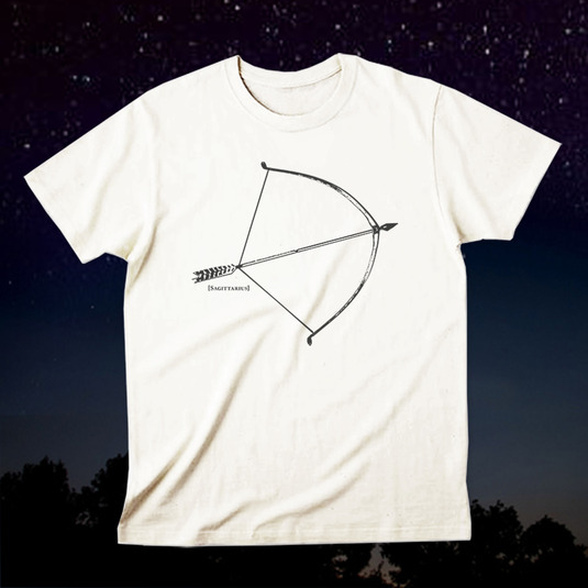 12星座Tシャツ「Sagittarius(射手座)」