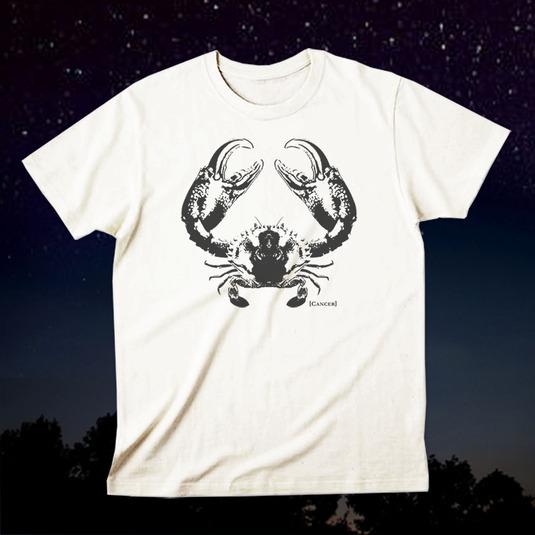 12星座Tシャツ「Cancer(蟹座)」