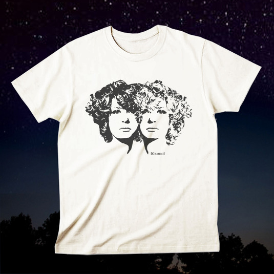 12星座Tシャツ「Gemini(双子座)」