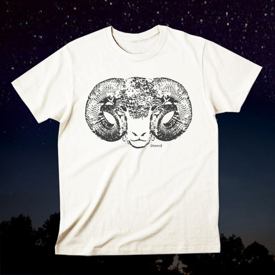 12星座Tシャツ「Aries(牡羊座)」