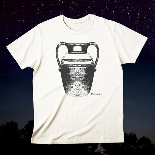12星座Tシャツ「Aquarius(水瓶座)」