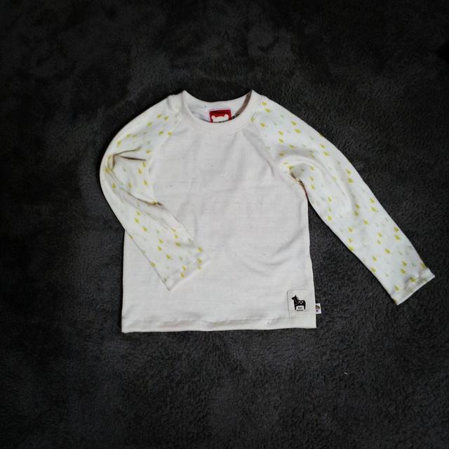 しずくとカラーネップのTシャツ110