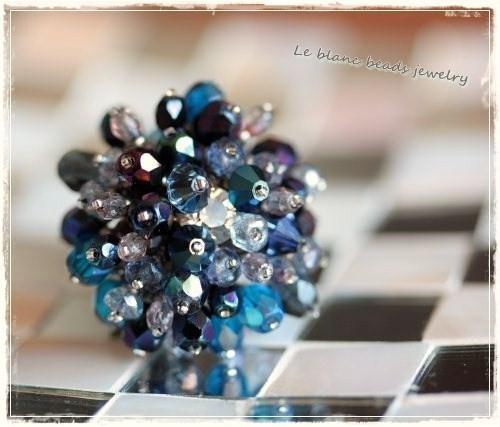 シャワーマウンドリング(dark blue)