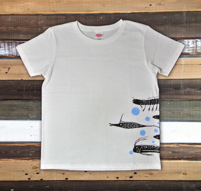 魚群Tシャツ レディース(S M L)