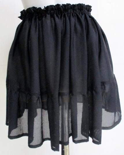送料無料 縮緬の絽の着物で作ったミニ...
