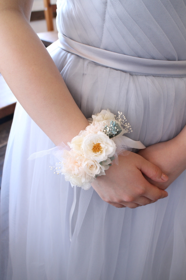 bride * wrist bouquet  #129 〔リスト...