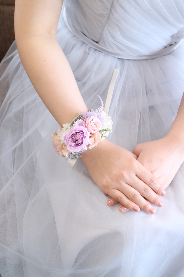 bride * wrist bouquet  #128〔リストブ...