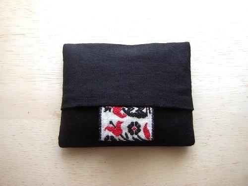 ポケットティッシュケース ( tirol&black )