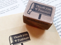 Thank you post man スタンプ