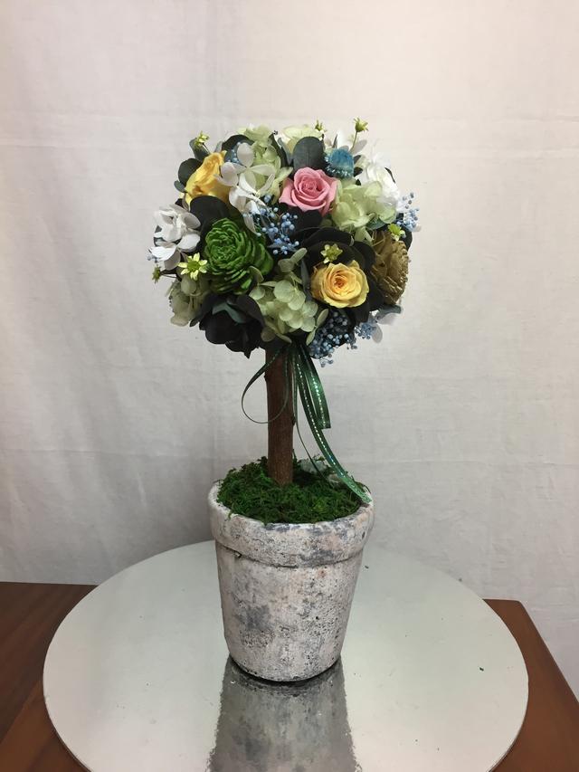 お花のトピアリー