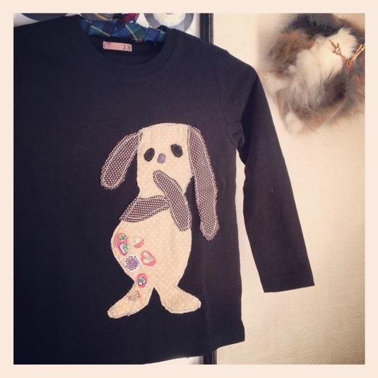 コラージュ Tシャツ 「Fitty」
