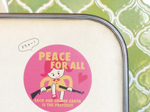 PEACE FOR ALL ステッカー