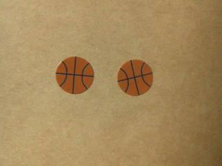 バスケットボールピアス
