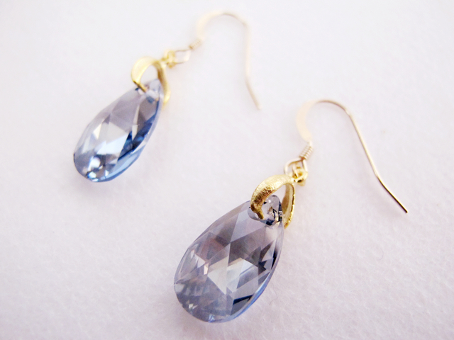 14KGF Morning dew * SWAROVSKI*朝露ピ...