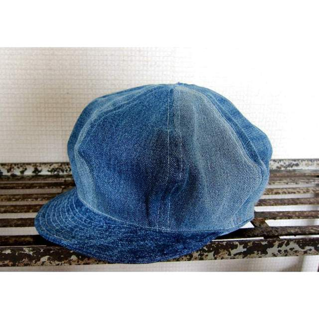 ... キャスケット メンズ キャスケット デニム キャスケット レディース 大きい 帽子 ハンチング デニムキャップ ヒッコリー サイズ調整可能   ...
