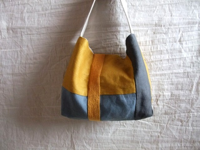 itoiro bag (mustard orange)