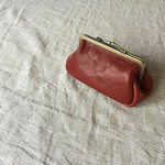 """gamaguchi"" pouch D/  red"