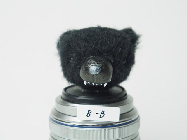 【M様専用】牙くまヘッド(ブラック)B