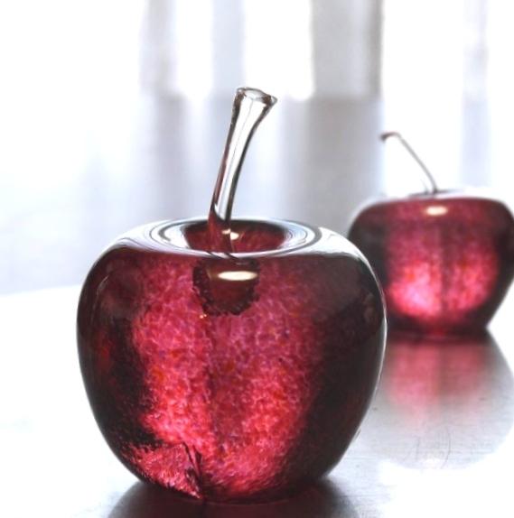 【dreamdream27さまご予約品】ガラスのリンゴ L