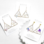 ▽triangle△-○△□-pierce,earring