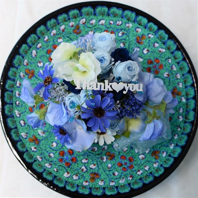 感謝と愛を贈る ~ブルーのバラ ...