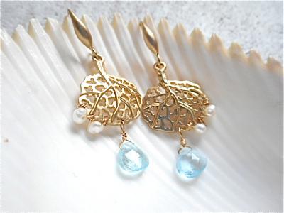 Sea fan Ocean earrings