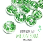 melon soda beads ~8pcs〜
