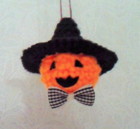 ハロウィンかぼちゃストラップ