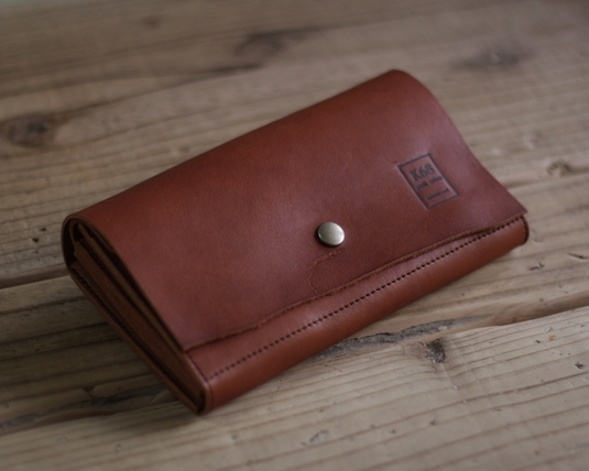 革の長財布 Long WALLET / naturalcut / Brown