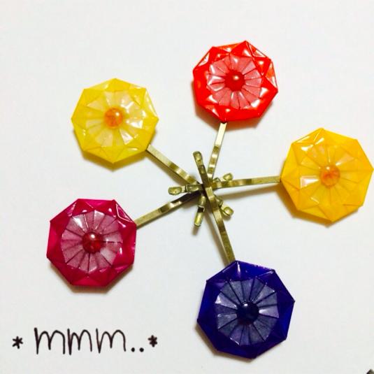 ハート 折り紙 和 折り紙 : minne.com