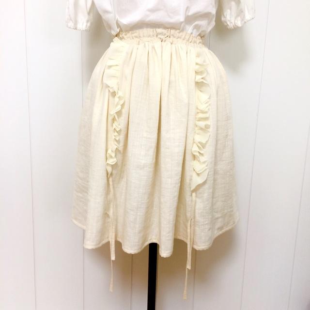 海月姫のナチュラルスカート