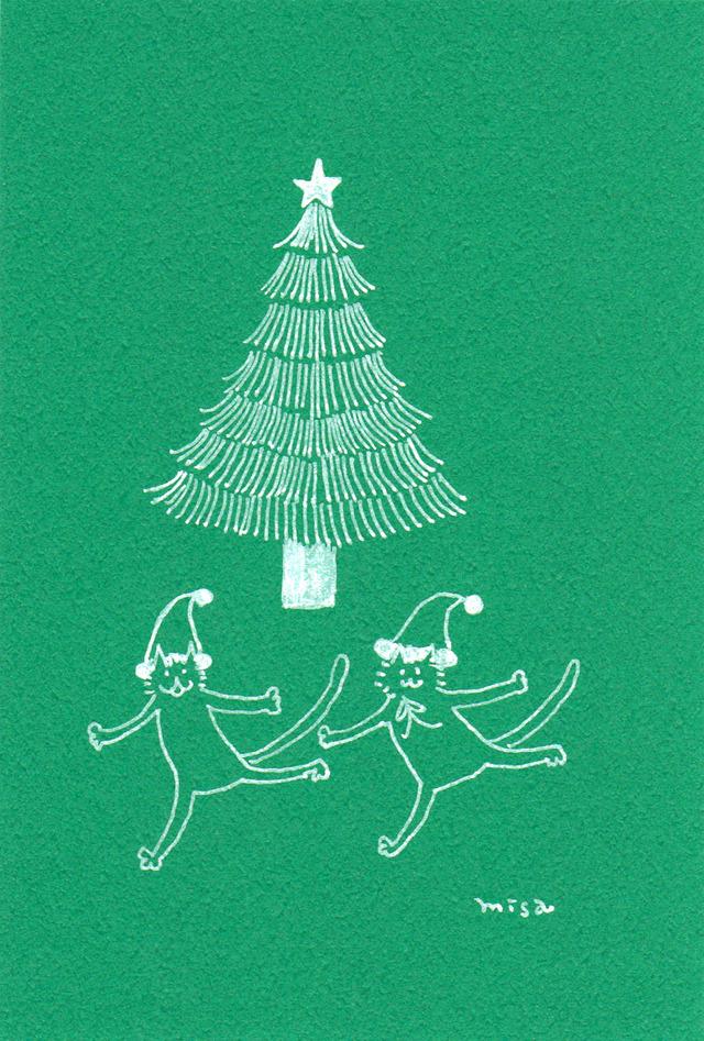 森の暮らし クリスマス原画