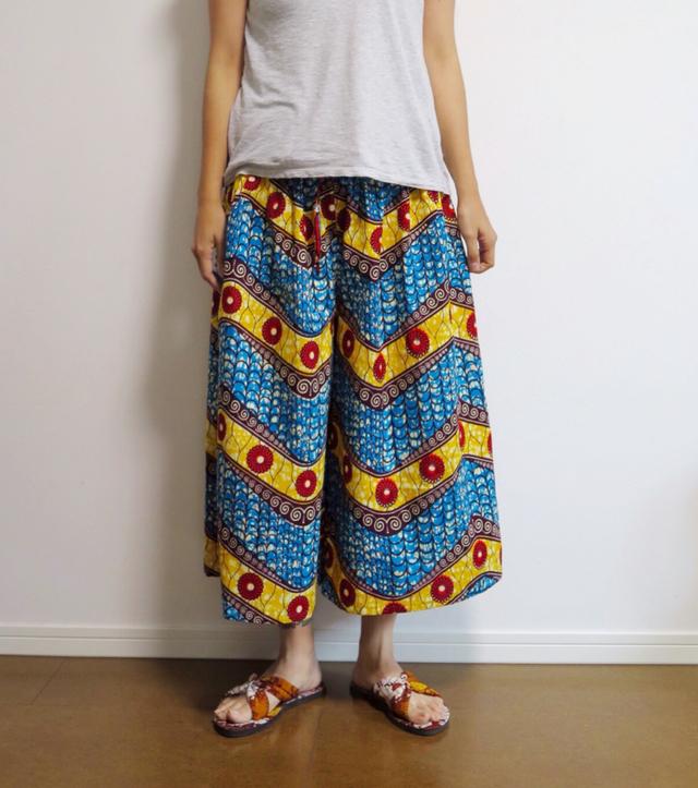 アフリカンバティックパンツ