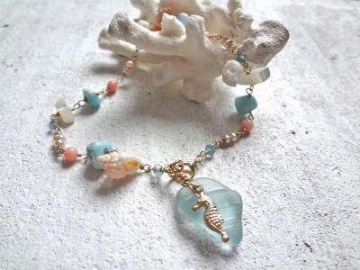 <SOLD>  mermaid tears bracelet  人魚の涙のブレス