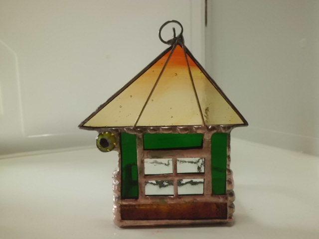 ハウス型キャンドルホルダー
