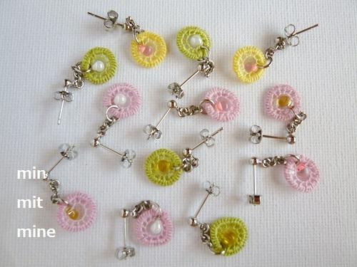 Spring 春色ピアス/イヤリング