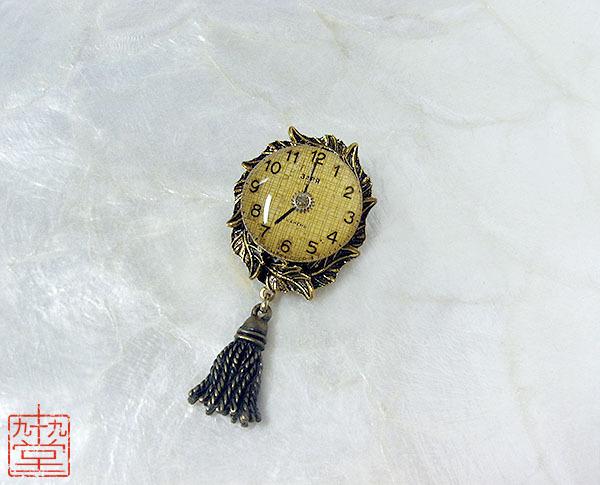 時計草の装身具・黄