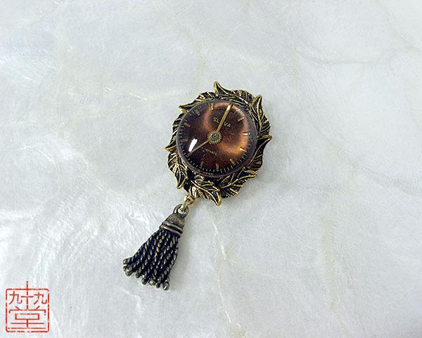 時計草の装身具・銅
