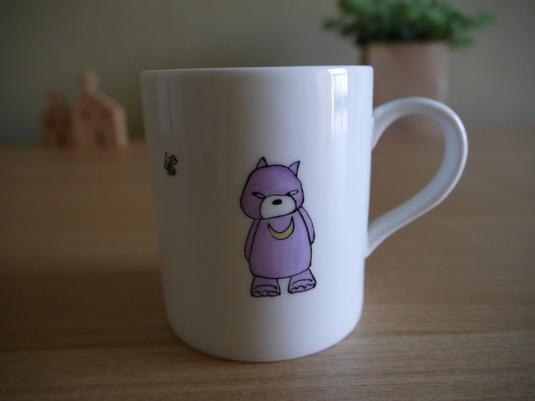 ツキノワグマのマグカップ