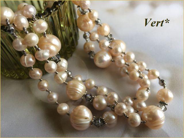 Vert* 【SV925】 スワロ×ライトピンク...
