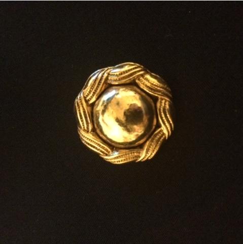 アンティーク金ボタン 大小2個セット