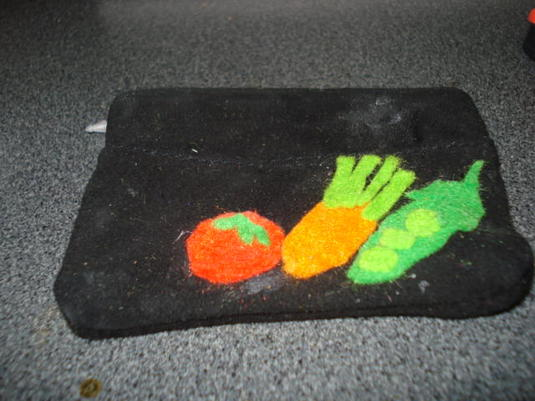 野菜 コインケース 本革