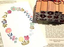 Garden petit stamp set